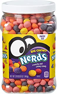 Big Chewy Nerds - Large Pantry Size - 51 oz