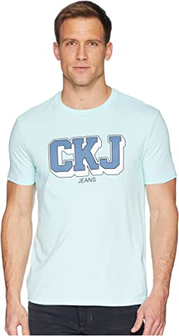 Calvin Klein Jeans Short Sleeve T-Shirt CKJ Athletic Logo