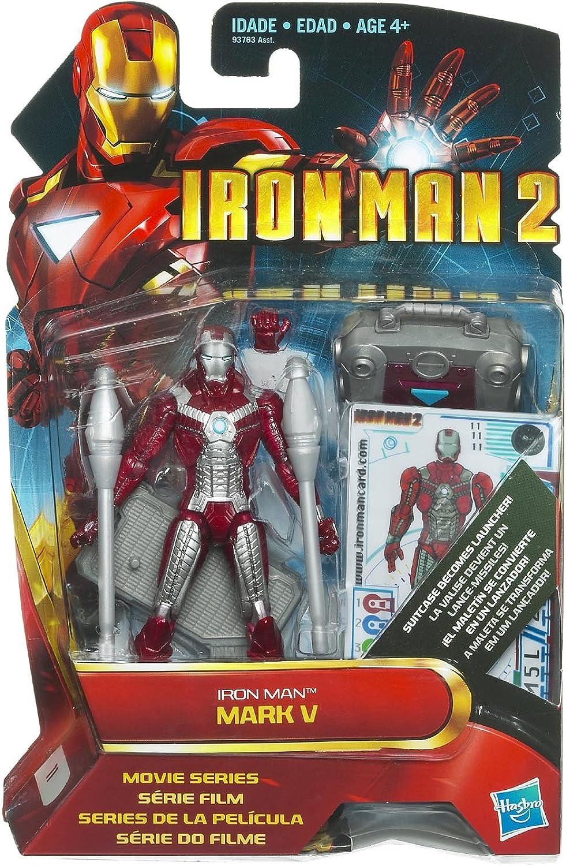 oferta especial Marvel Iron Man Man Man 2 Movie 10cm Iron Man Mark V figura de acción.  comprar ahora