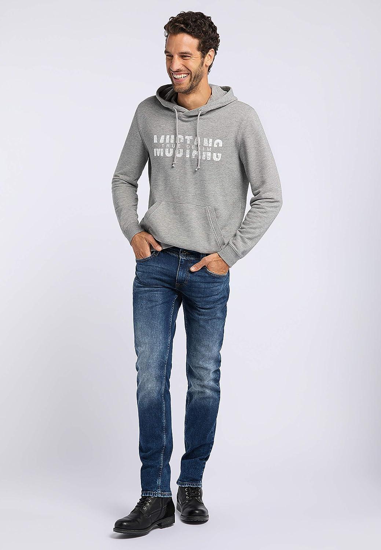 MUSTANG Herren Slim Fit Oregon Tapered Jeans Blau (Medium Dark 782)