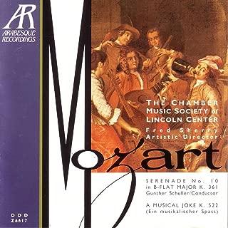 Mozart: Serenade K.361 - A Musical Joke K.522