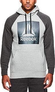 Men's Performance Pullover Hoodie - Graphic Hooded Activewear Sweatshirt