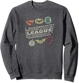 Justice League Symbols Sweatshirt