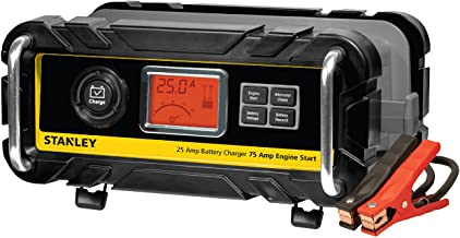 STANLEY BC25BS Smart 12V Battery Charger for Car/Marine Charging