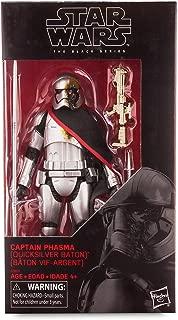 Star Wars Black Series Captain Phasma Quicksilver Baton Action Figure