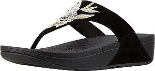 FitFlop Womens Lulu Baroque Toe Thong Sandals