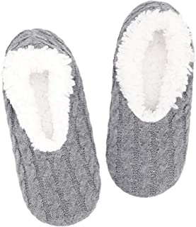 Slipper Socks For Women With Grippers, Fuzzy Womens...