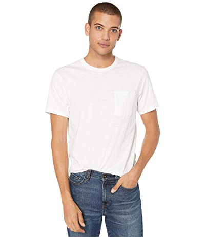 J.Crew Garment-Dyed Slub Cotton Crewneck T-Shirt (White) Men