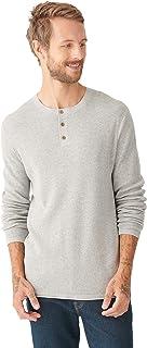 Men's Long Sleeve Welterweight Henley Sweater