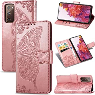 FanTing Case for Samsung Galaxy S20 FE 5G, Wallet Flip Cover with Mobile Phone Holder and Card Slot,Magnetic PU leather wa...