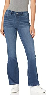 Laurie Felt womens Silky Denim Boot Cut Pull-On Jeans Jeans