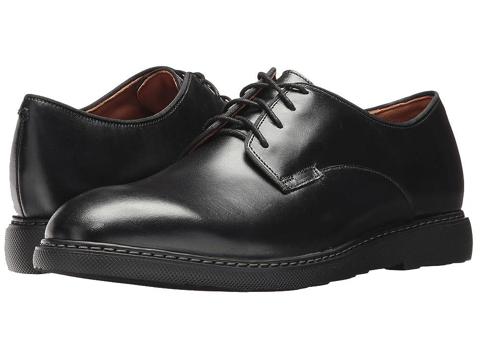 Bostonian Cahal Plain (Black Leather) Men