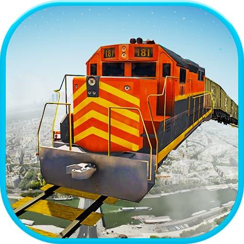 Ciudad tren Imposible Track Drive - Juego Indio 18: