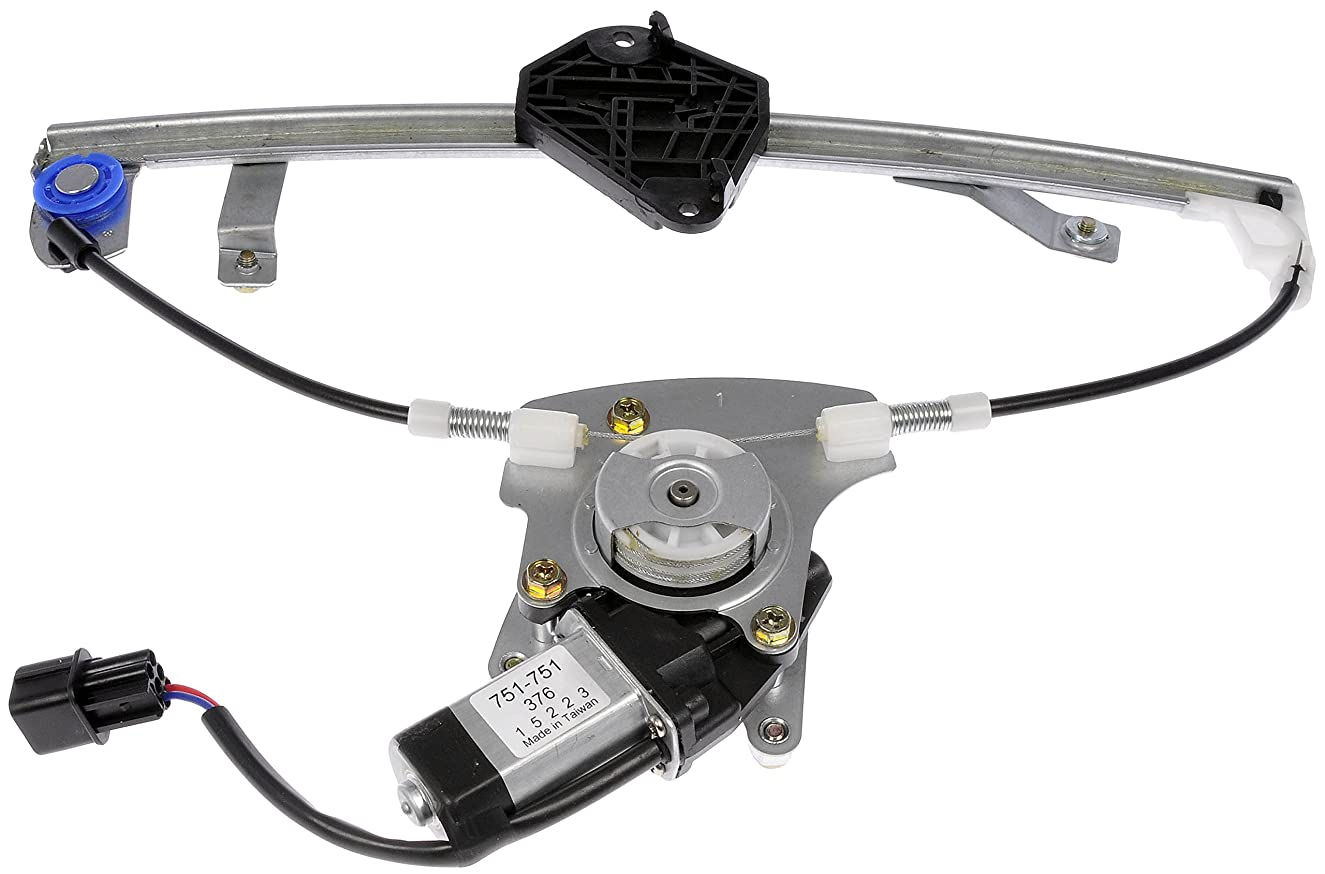 Dorman OE Solutions 751-751 Power Window Regulator with Motor (Subaru, Rear Driver Side)
