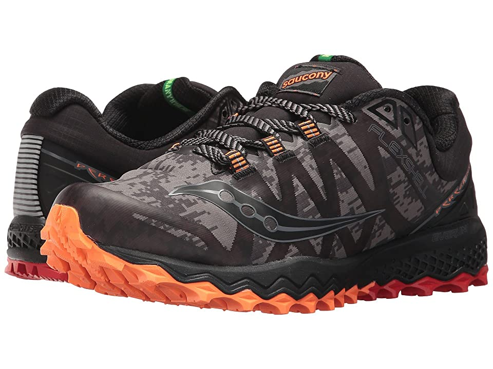Saucony Peregrine 7 Runshield (Black/Red) Men