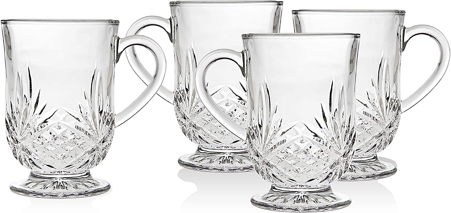 Godinger Coffee Mugs Tea or Hot - Ranking TOP20 Glass Colle List price Cups Water Dublin