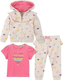 Baby Girl's 3 Pieces Jacket Pants Set Pants