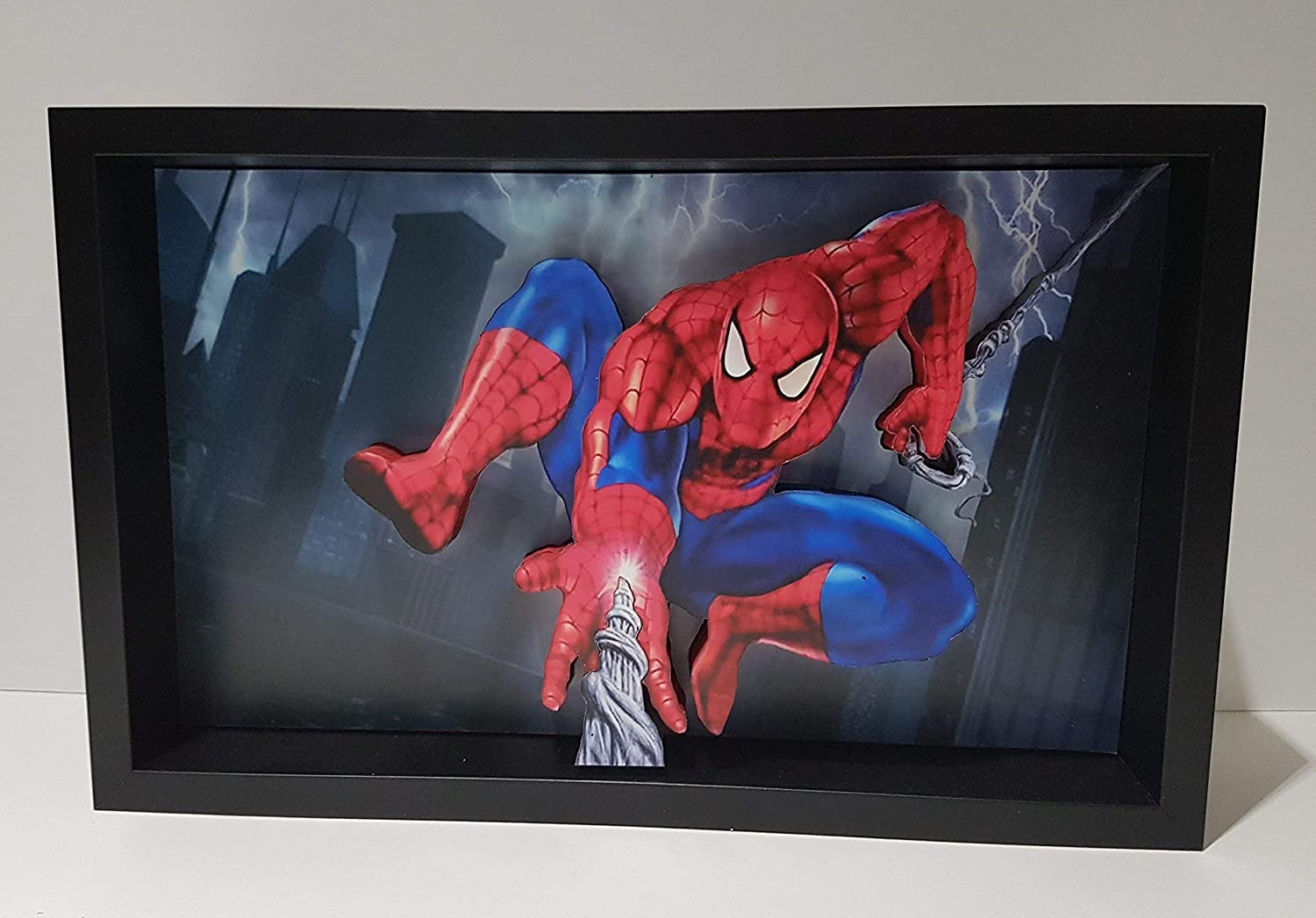 Spider-Man Picture Framed 3D Art Peter Sales of SALE items from new works Hero Marvel Bombing new work Parker Super