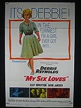 MY SIX LOVES-1963-POSTER-DEBBIE REYNOLDS-COMEDY VF