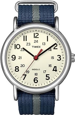 [タイメックス]TIMEX ウィークエンダー セントラルパーク クリーム×ネイビー/グレー T2N654 【正規輸入品】
