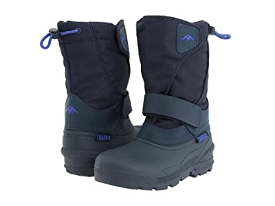 Tundra Boots Kids Quebec (Toddler/Little Kid/Big Kid) (Navy) Boys Shoes