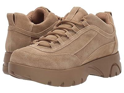 Steve Madden Junior Sneaker (Tan Suede) Women