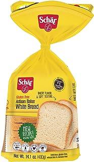 Schar Gluten-Free Artisan Baker White Bread 14.1 Ounce (6 Pack)