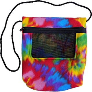 Bonding Carry Pouch for Sugar Gliders and Other Small Pets (Tie Dye)