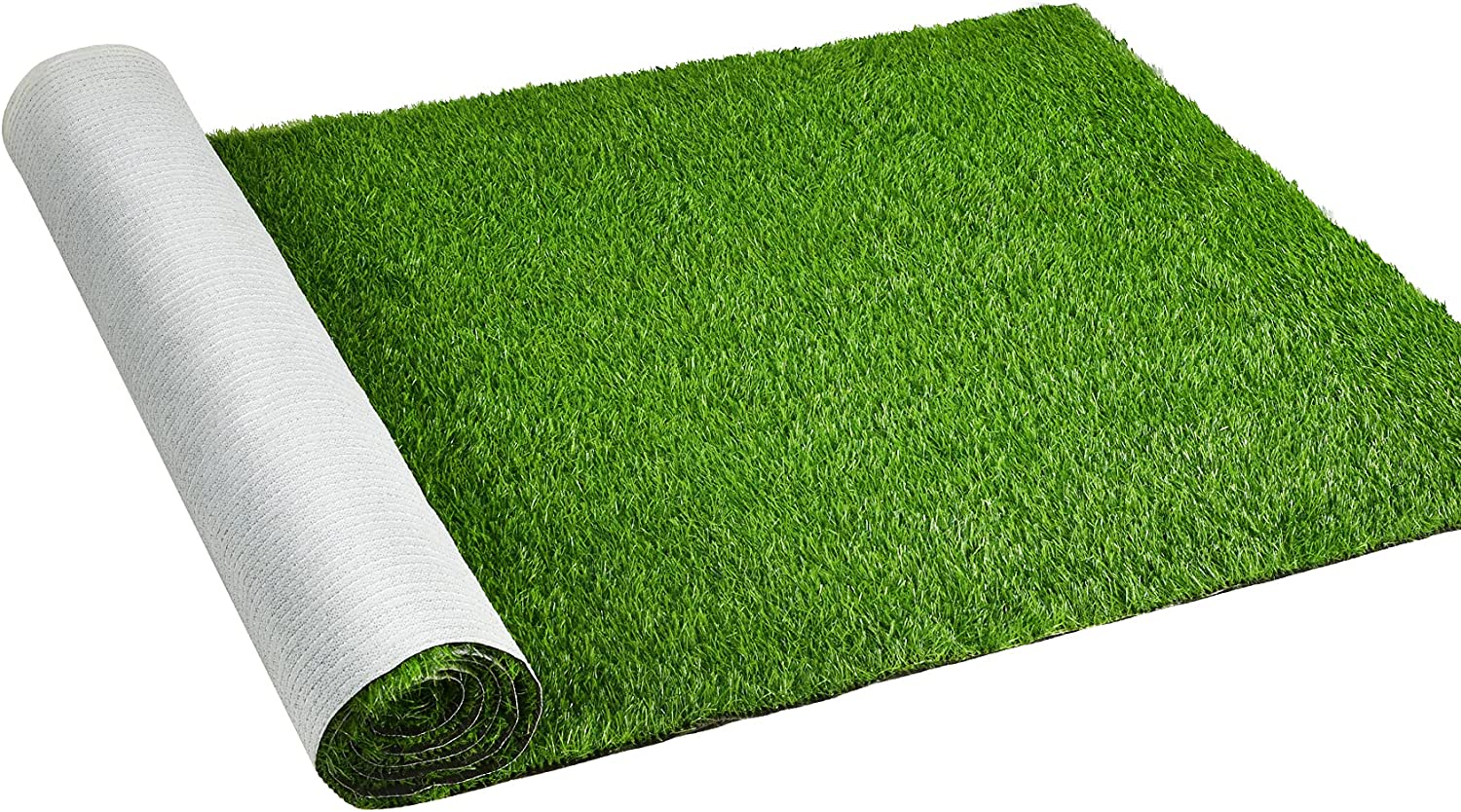 DearHouse Artificial Grass Mats Lawn Carpet, Synthetic Rug Indoor Outdoor Landscape, Fake Faux Turf for Garden Home Decor (3.28 X 6.56 Ft)