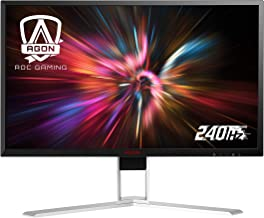 "AOC Agon AG251FZ2 25"" Gaming Monitor, Full HD 1920x1080, Freesync, 240Hz, 0.5ms, Quickswitch Keypad, Ergonomic Stand, 4-Yr..."