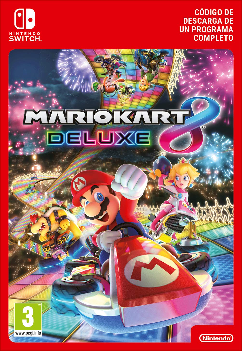 Mario Kart 8 Deluxe | Nintendo Switch - Código de descarga: Amazon ...