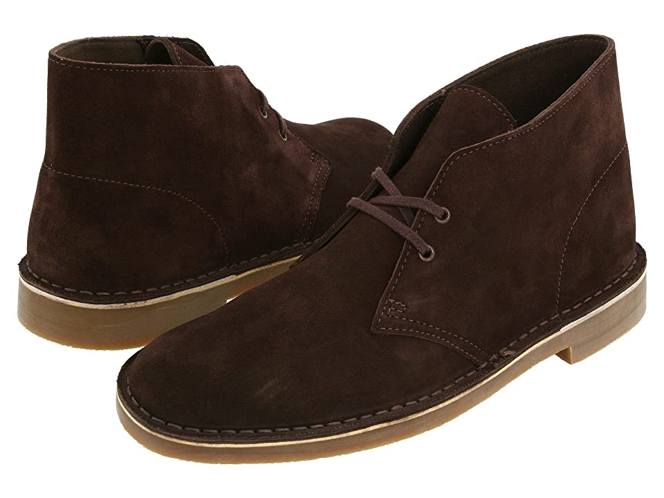 Clarks Bushacre 2 (Brown Suede) Men