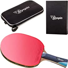 Slyspin Rapture Professional Ping Pong Paddle - Table Tennis Racket - Comes with Premium Carrying Case