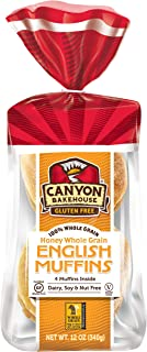 Canyon Bakehouse Shelf Stable Gluten Free English Muffins, 12 Ounce