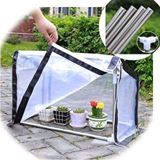 Greenhouse Greenhouses for Outdoors Transparent Thicken Succulent Green Plants Rain Shelter Antifreeze Shade Net Winter Fl...