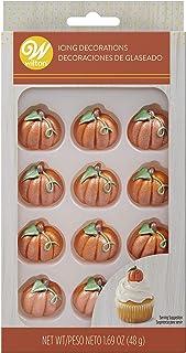 Food Items Pumpkin Icing Decorations
