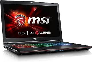 MSI Gaming GE72 6QD(Apache Pro)-007ES - Ordenador portátil (i7-6700HQ, DVD±RW, Touchpad, Windows 10 Home, Ión de litio, 64-bit)