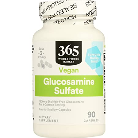 365 by Whole Foods Market, Supplements - Bone & Joint, Glucosamine Chondroitin (Capsules), 90 Count