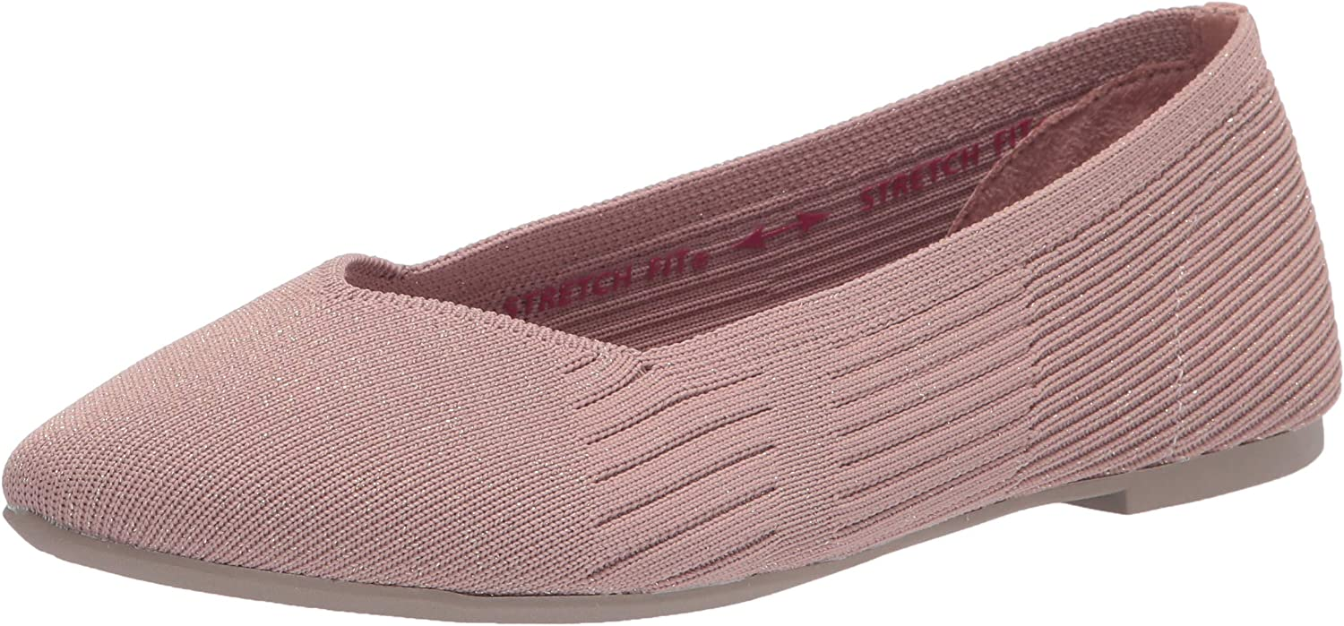 Skechers Women's Spring Courier shipping free shipping new work one after another Cleo-Crave Flat Ballet