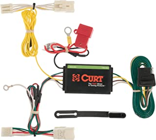 CURT 56156 Vehicle-Side Custom 4-Pin Trailer Wiring Harness for Select Toyota Prius V