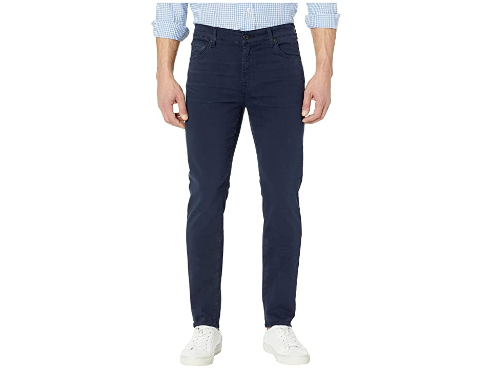 Image of 7 For All Mankind Adrien Easy Slim Total Twill (Navy) Men's Casual Pants
