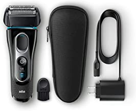 Braun Electric Razor for Men, Series 5 5145s Electric Shaver with Precision Trimmer, Rechargeable, Wet & Dry Foil Shaver &...