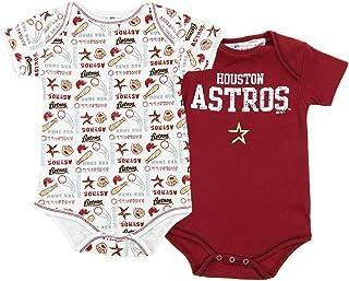 Team Sports Majestic Mlb Infant Boston Red Sox Baseball 3 Piece Creeper Set Look 6-9 Months Baseball & Softball