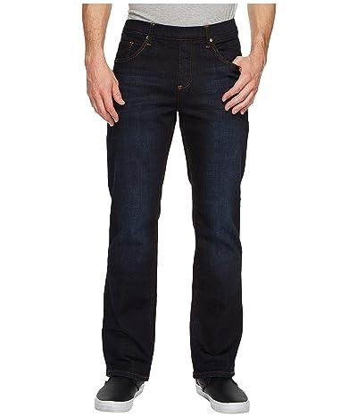 NBZ(r) Elastic Waist Straight Leg Jean in Slate Blue (Slate Blue) Men
