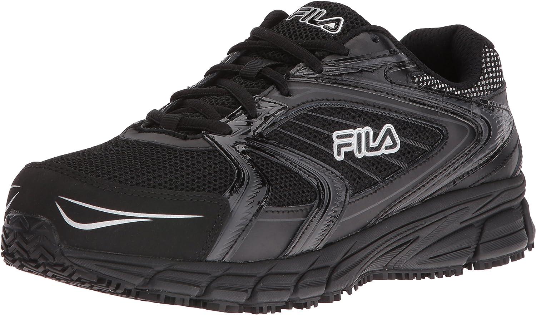 Fila Men's Memory Reckoning 7 Work Runn Toe Al sold out. Limited price sale Slip Steel Resistant
