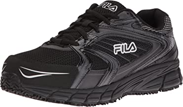 Fila Men's Memory Reckoning 7 Work Slip Resistant Steel Toe Running Shoe