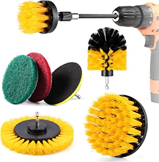 Sponsored Ad – DazSpirit 8 Piece Drill Brush Attachment Set, Cleaning Drill Brushes Kit for Cordless Drill Wear-Resistant ...