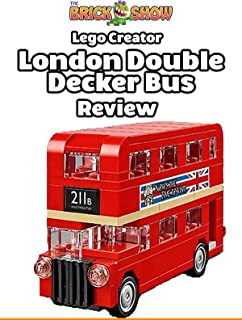 Review: Lego Creator London Double Decker Bus Review