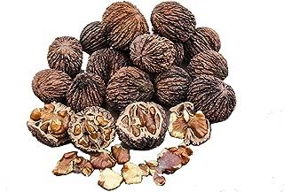 BlueApe LLC Missouri Harvest Fresh Whole Black Walnuts 2018 5 Pounds in Shell Organic Perfect Squirrel Food - Black Walnut Tree Seeds - Juglans Nigra …
