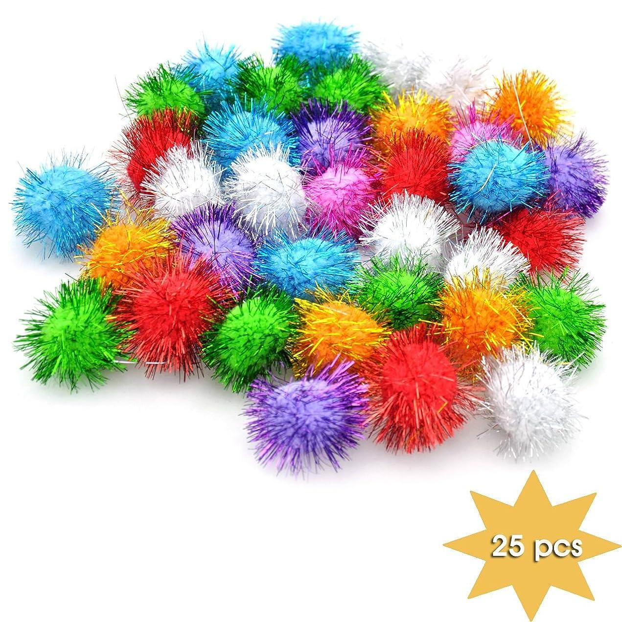 Yazy Craft Sparkle Balls 25 pcs